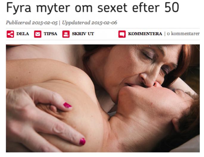 Sex efter 50 för kvinnor